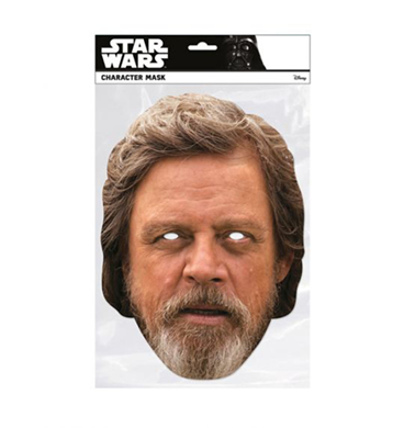 Luke Skywalker Star Wars The Last Jedi Celebrity Mask