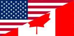 USA and Canada Flag